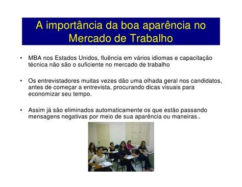 Boa Mba Program by Postura E Comportamento Nelson Remondi Cidad 227 O Do
