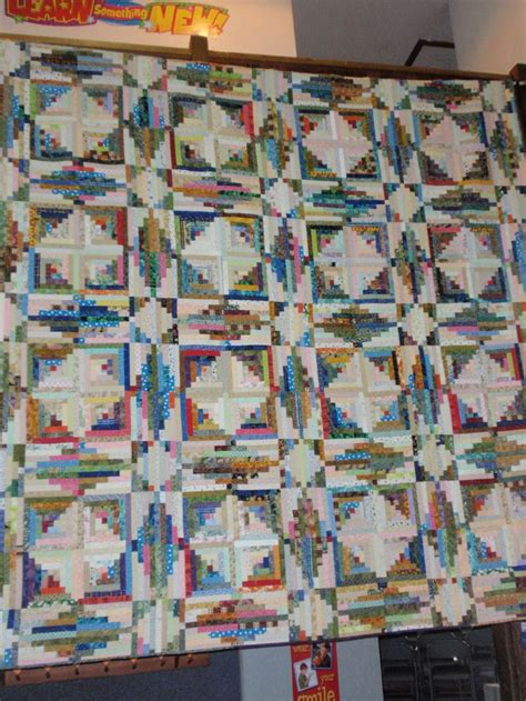 Log Cabin Quilt Pattern Variations by At Sea Log Cabin Quilt I A Log Cabin Log