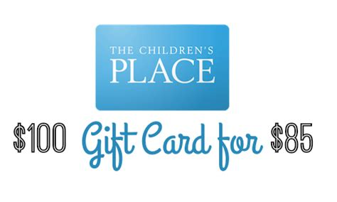 Places That Buy Gift Cards - 100 children s place gift card for 85 southern savers