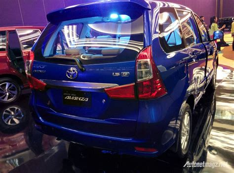 Lu Belakang Avanza All New toyota grand new avanza belakang