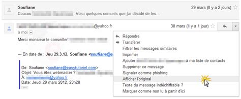 yahoo mail zweite email adresse comment localiser l exp 233 diteur d un mail anonyme