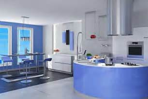 Blue Kitchen Decorating Ideas by Furniture Decoration Ideas Kitchen Cabinets Blue Paint