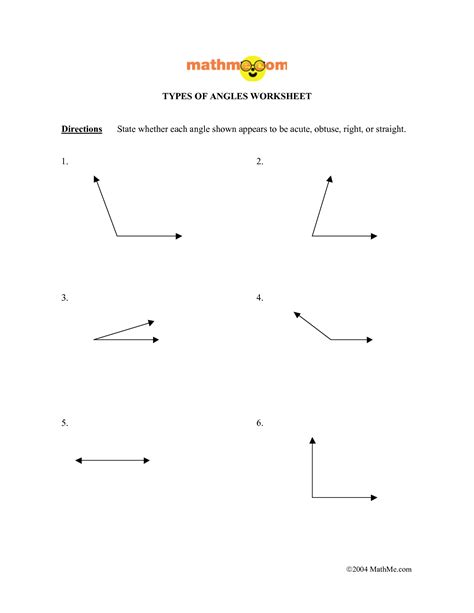 Lines And Angles Worksheet by 13 Best Images Of Measuring Angles Worksheets Measuring