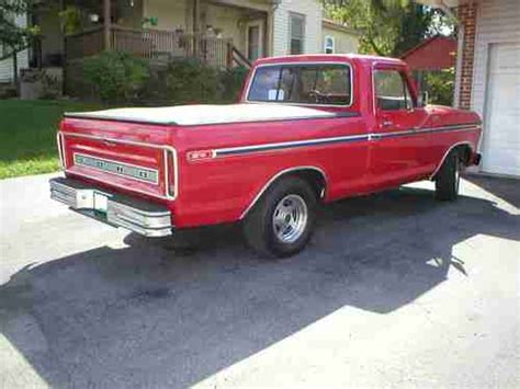 used ford truck beds find used ford f00 truck 1977 pickup restored short bed