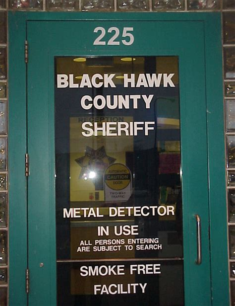Black Hawk County Warrant Search Office Hours