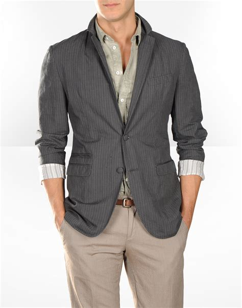 grey blazer d g men blazer in steel grey men s fashion