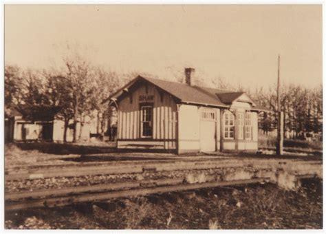 railroad depot shaw kansas kansas memory kansas