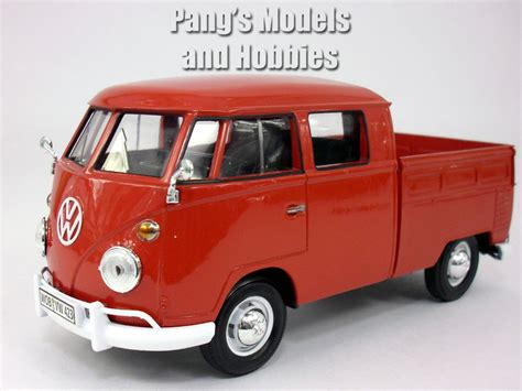volkswagen models van volkswagen vw t1 type 2 pick up bus van 1 24 scale