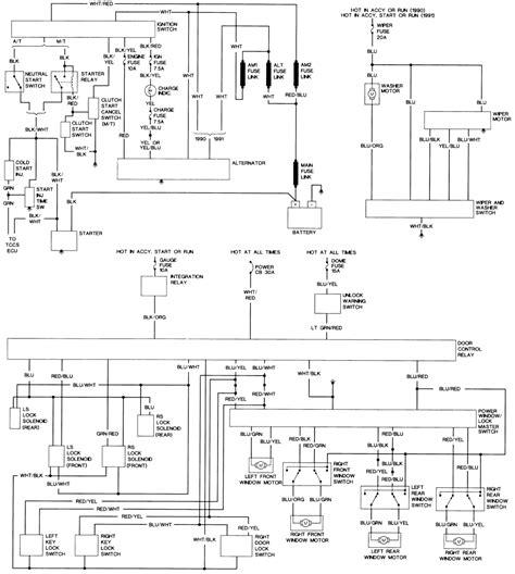 toyota tacoma fuse box power toyota tacoma ac relay wiring
