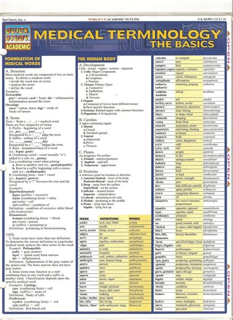 medical terms medical terminology page 1 medical billing pinterest