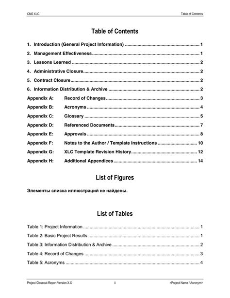 Project Closeout Report Template Pdf Project Closeout Report In Word And Pdf Formats Page 2 Of 17