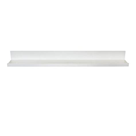 Ledge Shelf White by Inplace Shelving 9084678 Picture Ledge Floating Shelf 36