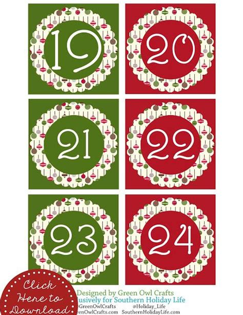 printable numbers 1 24 pin by jutta johnson on printable labels tags pinterest