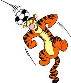 free cartoon graphics pics gifs photographs tigger soccer pictures