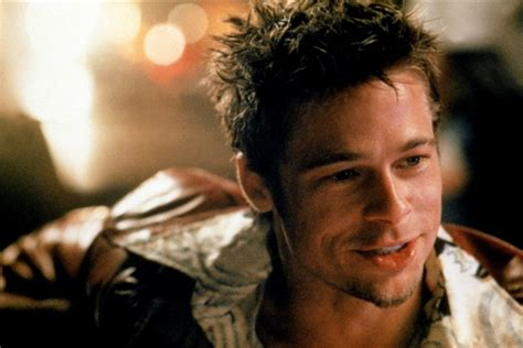 tyler durden hairstyle latest hollywood hottest wallpapers brad pitt hair fight club