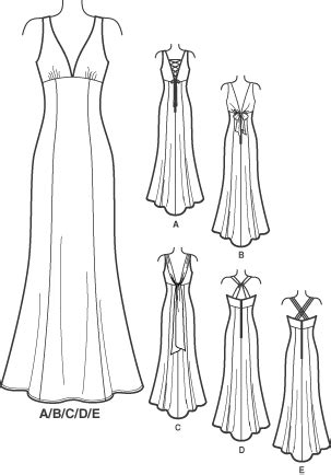 sewing pattern zelda new look 6401 misses special occasion dresses princess