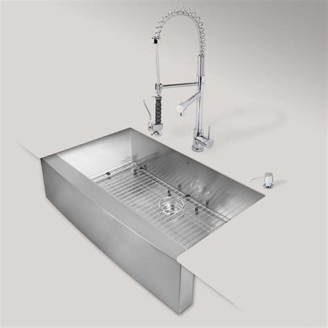 kitchen sinks austin tx vigo 36 in x 22 25 in matte brushed steel stainless single