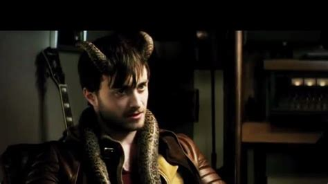 Daniel Radcliffe Shows His Wang by Horns Trailer Shows Daniel Radcliffe S Side
