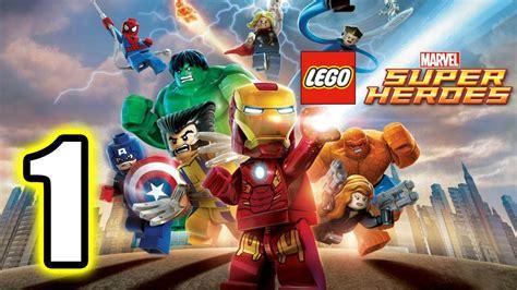 tutorial lego marvel superheroes lego marvel super heroes walkthrough part 1 ps3 lets