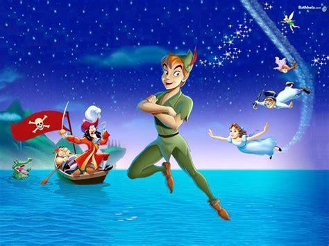 wallpaper disney peter pan pan captain disney hook movie neverland peter cartoon