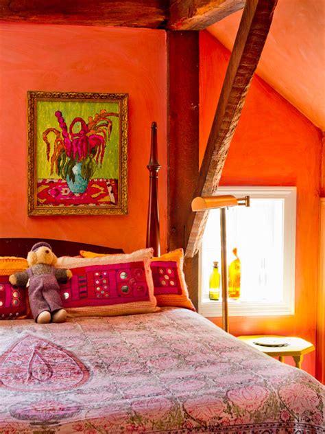 orange and pink bedroom ideas bright orange and pink bedroom beautiful homes design