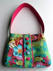 Handcrafted Bags - handmade handbags play with shapes goldenfingers