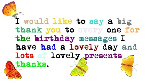 Birthday Thanks Quotes 25 Cool Thank You Quotes Picshunger