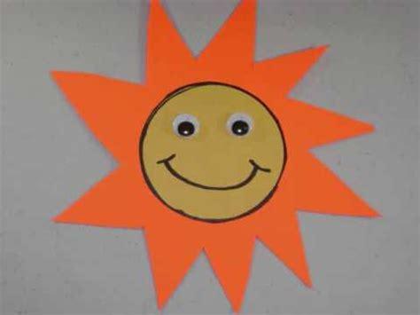 como hacer un sol de unicel como hacer un sol con papel de construcci 243 n o cartulina