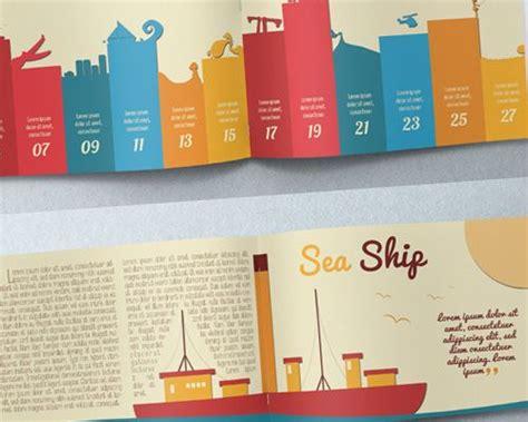 layout brosur gratis best print design illustration brochure misc pinterest