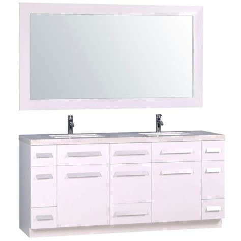 design elements moscony design element moscony 72 in w x 22 in d double vanity