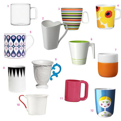 design cups roundup 12 modern mugs design milk