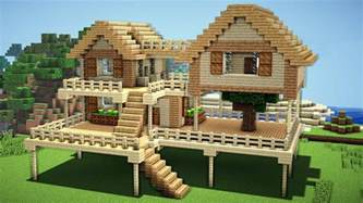 minecraft survival house tutorial how to build a house