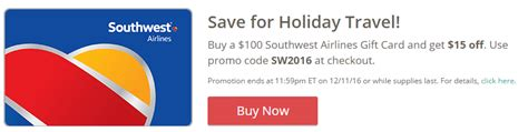 Southwest Gift Card Promotion - 100 southwest gift card for 85 5x frequent miler