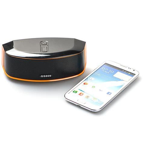 Speaker Gs Bass Portable Bluetooth gs bass portable bluetooth speaker gs809 black
