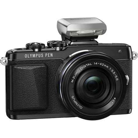 Olympus Pen F Mirrorless Micro Four Thirds Digital Only olympus pen e pl7 mirrorless micro four thirds v205073bu001 b h