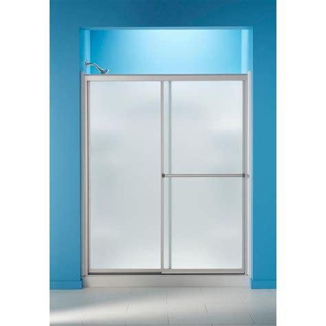 Sterling 59 3 8 In X 70 1 4 In Framed Sliding Shower Sterling Glass Shower Doors