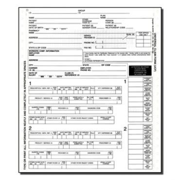 best photos of ncpdp universal claim form template ncpdp