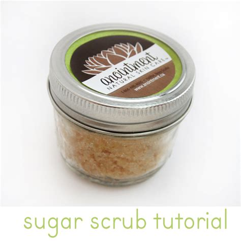 Handmade Scrub - tutorial make a sugar scrub oh my handmade