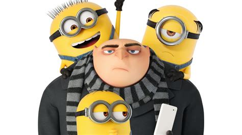 wallpaper despicable   dru minion  poster movies