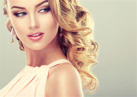 Beautiful Model With Elegant Hairstyle Stock Photo | beautiful model with elegant hairstyle stock photo