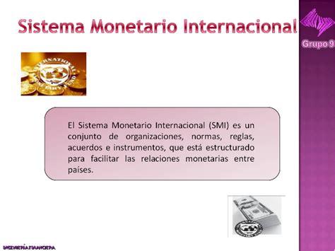 finanzas internacionales sistema monetario internacional finanzas internacionales comercio fusiones y