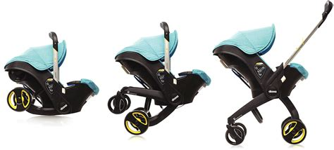 baby car seat and stroller all in one a car seat with retractable stroller wheels frees up trunk