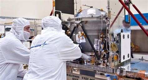 Lockheed Martin Background Check Grail Spacecraft Takes Shape
