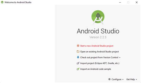 getting started with android studio getting started with android studio