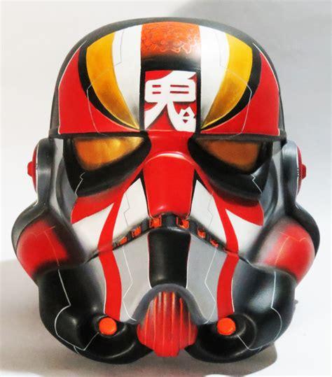 design your own helmet stormtrooper kabuki trooper stormtrooper helmet by gabriel carpio