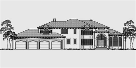 house plans with 4 car attached garage ranch house plans with 4 car garage