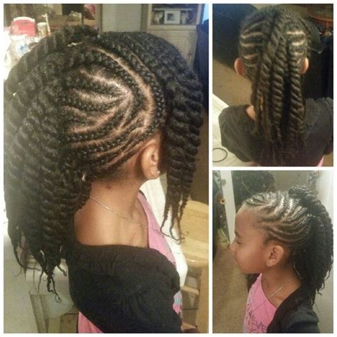 8 year old black hair dues 10 year old black girl hairstyles hairstyle pinterest