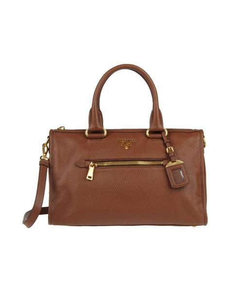 Prada Handbag 1 prada handbag in brown lyst