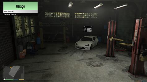 need for speed garage gta5 mods