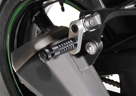 pedane posteriori moto pedane passeggero posteriori modulabili e regolabili in